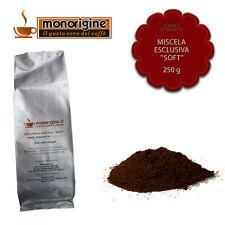 Caffè macinato fresco per espresso Miscela Esclusiva Soft 250 gr