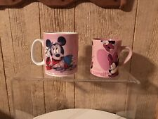 Minnie Mouse Mugs - 1 Giant Size 1 Regular Size