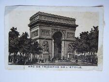 137 - Image photo - Arc de triomphe de l'Etoile - Chevaux - Calèche