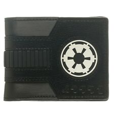 Oficial De Star Wars Imperio Galáctico Negro Blanco Bi-fold Wallet-Darth Vader Nuevo