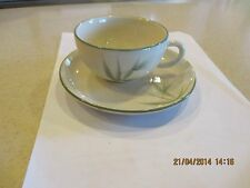 VINTAGE WINFIELD WARE BAMBOO POTTERY CHINA CUP AND SAUCER-CALIFORNIA CHINA