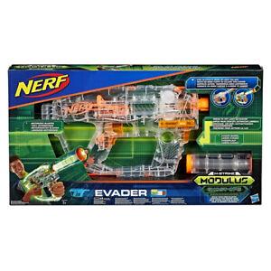 NERF N Strike Modulus Ghost Ops Evader E0733EU4 Effect Light, Automatic