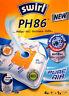 4 Staubsaugerbeutel Swirl PH86 PH 86 +1Filter MicroPor AirSpace Pure Air