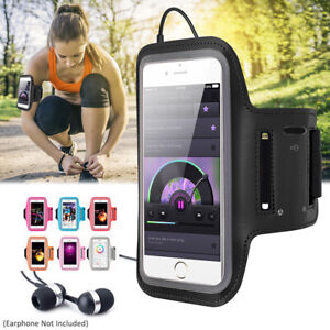 For Samsung Galaxy S20 S21+ Running Jogging Sports Gym Armband Case Holder Bag