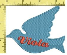 Embroidered Patch / Name Tags - Iron on/Sew on. You choose colours - New