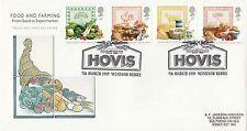 (99239) GB FDC Nourriture & Agriculture Hovis Windsor 7 Mars 1989