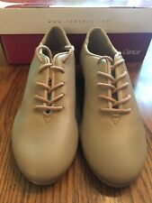 NIB So Danca TA05 Tan Lace Up Tap Shoe Size M 4.5