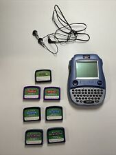 New listing LeapFrog Quantum Leap iQuest Handheld Console Bundle- 7 cartridges Grade 5