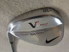 LH - Nike Vr Pro Forged Satin Chrome 56* Sand Wedge w/NS Pro Stiff Steel Shaft