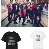Kpop EXO Tshirt Lay Oh Se Hun Concert T-shirt KAI Chanyeol Chen BAEK HYUN Tee