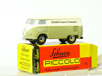 Schuco piccolo Bully VW Box Truck German Transport Compagnie Boxed