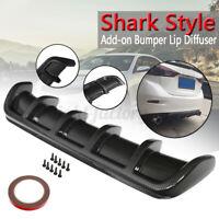 Carbon Look Rear Lip Bumper Valance Diffuser For Infiniti Q50 Q60 Q70