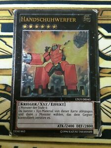 YUGIOH, Handschuhwerfer,  LTGY-DE045, Ultimate Rare