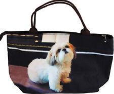 More details for ladies handbag shih tzu puppy dog design