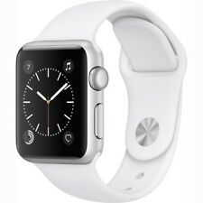 Apple Watch Gen 2 Series 1 38mm Silver Aluminum - White Sport Band MNNG2LL/A