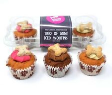 Barking Bakery Mini Iced Woofins Trio Dog Treat Cake