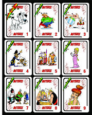 ASTERIX 1 BOX WITH 50 SPANISH PLAYING CARDS ARGENTINA! NIB