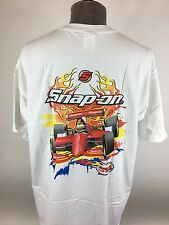 Snap On Tools T Shirt Drag Racing Dragster XL Pit Crew Mechanic Graphic Tee