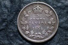 1904,    5 Cents,  Free shipping in Canada,    For your collection ?