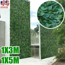 5M Ivy Fence Screen Artificial Decorative Leaves Outdoor Home Privacy Indoor