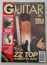 Guitar The Magazine January 1994 Vol 3 Issue 12 ZZ Top Doors Zappa Kings X Howe