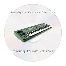 Ensoniq Eps Factory Sample Collection - 2 CD Ensoniq format Rom