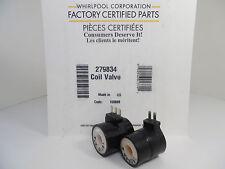 New Genuine Factory OEM Whirlpool / Maytag Dryer Gas Valve Coil Kit 279834