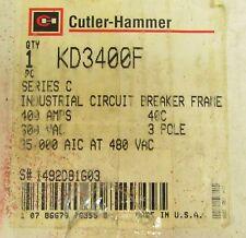 CUTLER HAMMER KD3400 3 Pole 400 Amp KD Breaker Line Load Lugs