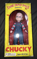 New 2012 Mezco Living Dead Dolls Chucky Doll RARE HTF CHILD'S play