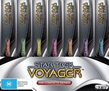 "STAR TREK VOYAGER COMPLETE SERIES SEASONS COLLECTION 48 DISC BOX SET R4 ""sale"""