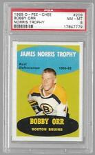 PSA 8 1969 O-PEE-CHEE #209 BOBBY ORR JAMES NORRIS TROPHY