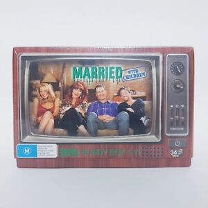 Married With Children Complete TV Series DVD PAL Region 4 Free Postage Bundy Box