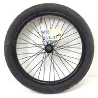 "16"" Front Black Bicycle Wheel w/ 2.125"" Tire - Mini-BMX Kids Bike #M89"