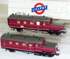 Liliput 177 04 Akku Triebwagen 2 tlg ETA 180 015 H0 1:87 TOP OVP komplett