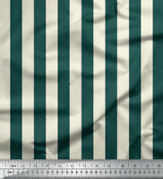 Soimoi Stripe Cotton Fabric For Sewing 58 Inches Wide Supply By the Metre