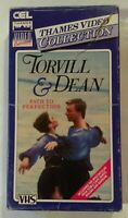 Torvill & Dean: Path to Perfection VHS 1984 CEL / Thames Video Cardboard Case