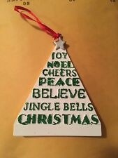 Christmas Tree Ornament Personalized Holiday Gift New