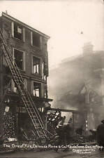 Maidstone. The Great Fire. Denniss Paine & Co. 1910 in Cooper's Series. Ladders.
