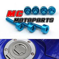 Blue Honda Gas Fuel Cap Bolts Screws CBR1100XX BlueBird 1997-1998