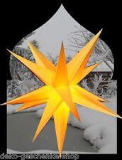 65 cm 3D STAR ALL'aperto Giallo AVVENTO pieghevole Stella + 4M CAVO 100181