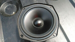 "JL Audio XR525-CW Single 5.25"" Component Midrange Car Speaker WORKING EXCELLENT"
