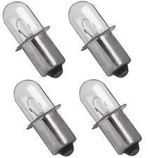 (4) RYOBI 18 VOLT Flashlight Replacement Xenon Bulb / 18v ONE+ Cordless
