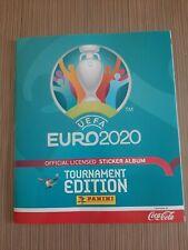 Panini empty album Euro 2020 Blue version Coca-Cola! New!