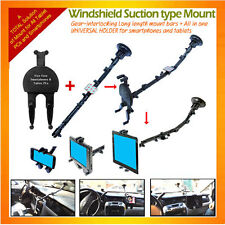 Windshield Suction Mount/Long+Allinone Universal Holder for tablets,smartphones