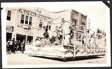 1924 APPLE BLOSSOM PARADE FLOAT PIONEER MOTOR COMPANY WENATCHEE WASHINGTON PHOTO