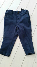 H&M BABY BOY NAVY BLUE PANTS 6-9 MONTHS