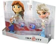 Disney Infinity Frozen Anna & Elsa Figures (Xbox 360/PS3/Wii/Wii U/3DS) - New