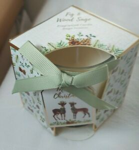 Fig and Wood Sage Fragranced Candle