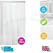 EurCross Shower Curtain Liner Odorless EVA Heavy Duty Stall Weighted c17b90