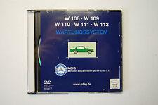 Mercedes-Benz W108 + W109 + W110 + W111 + W112 S-Klasse Wartungs-System DVD-Film